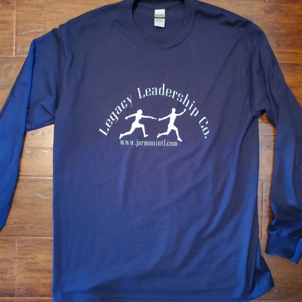 Legacy Leadership Co. blue long sleeved t-shirt