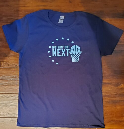 Nothin' But Next blue t-shirt
