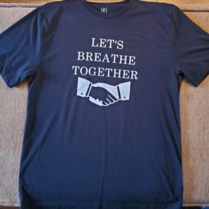 Let's Breathe Together T-shirt – Black